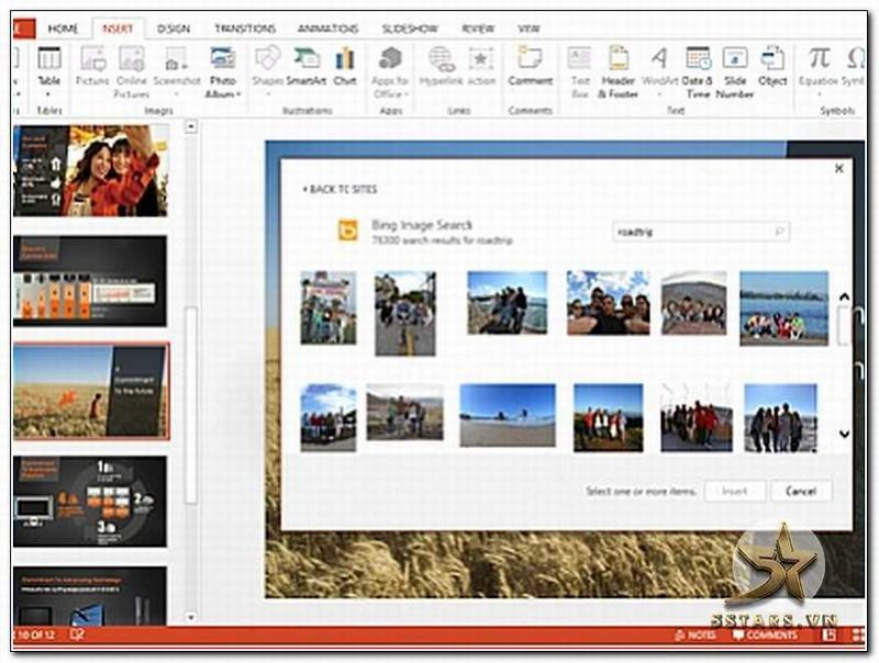 Giao diện Power Point 2013 mới
