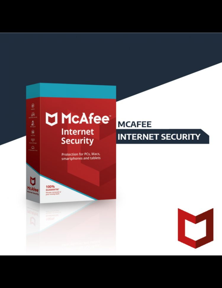 Mcafee Internet Security | Unlimited Devices | 1 Year